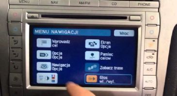 DVD FORD Navigation Map DENSO Last Update Western and Eastern